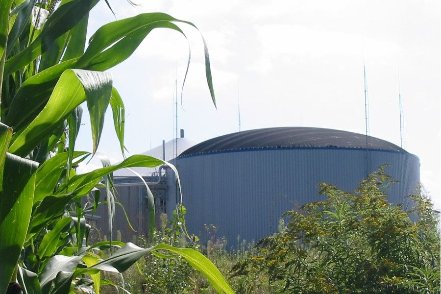 badenova Biogasanlage Neuried