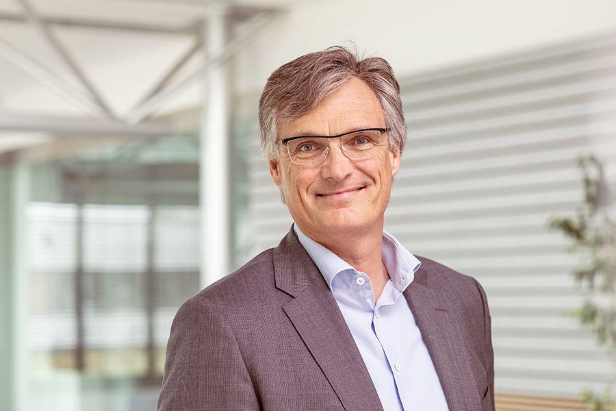 badenova Vorstandsvorsitzender Dr. Thorsten Radensleben