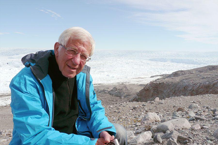 Journalist Franz Alt in Grönland
