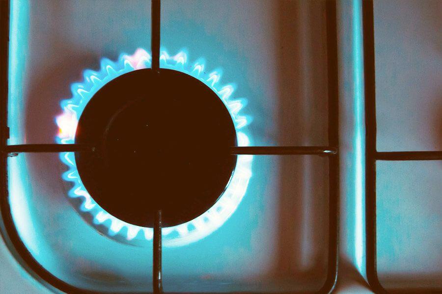 Grundversorgung mit Erdgas.
