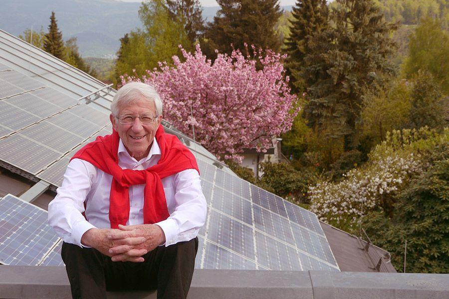 Friedensaktivist Franz Alt