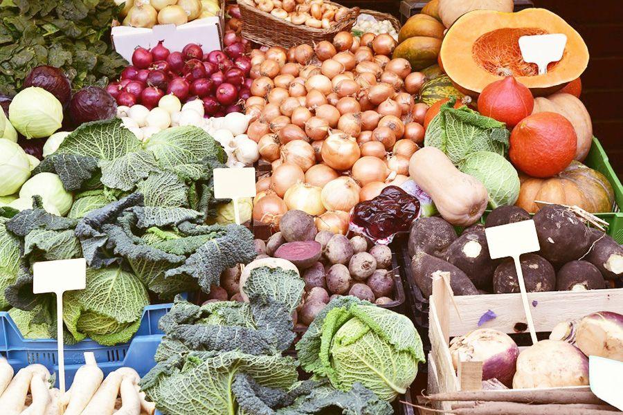 Saisonale Lebensmittel – Gemüse und Obst im Winter