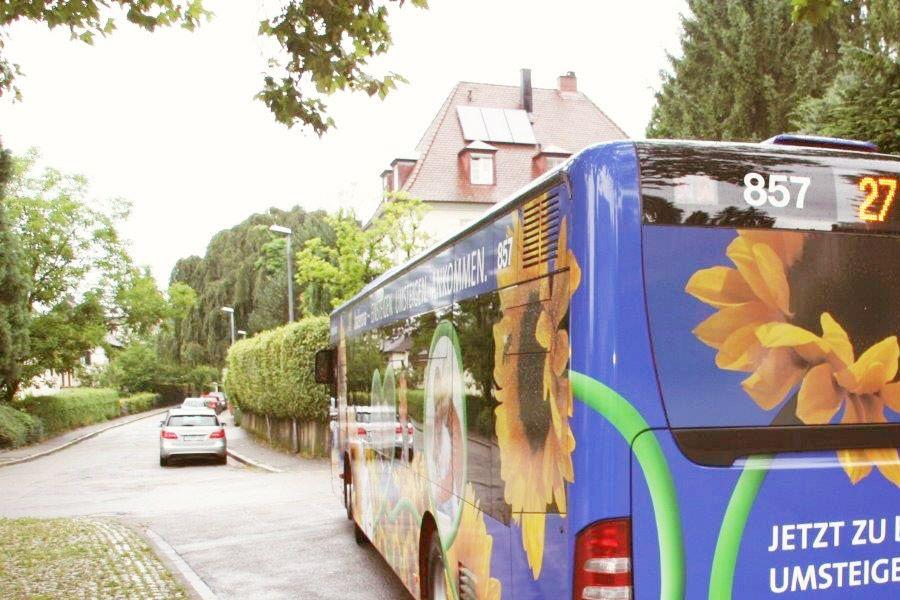 Stadtverkehr der Zukunft badenova Bus