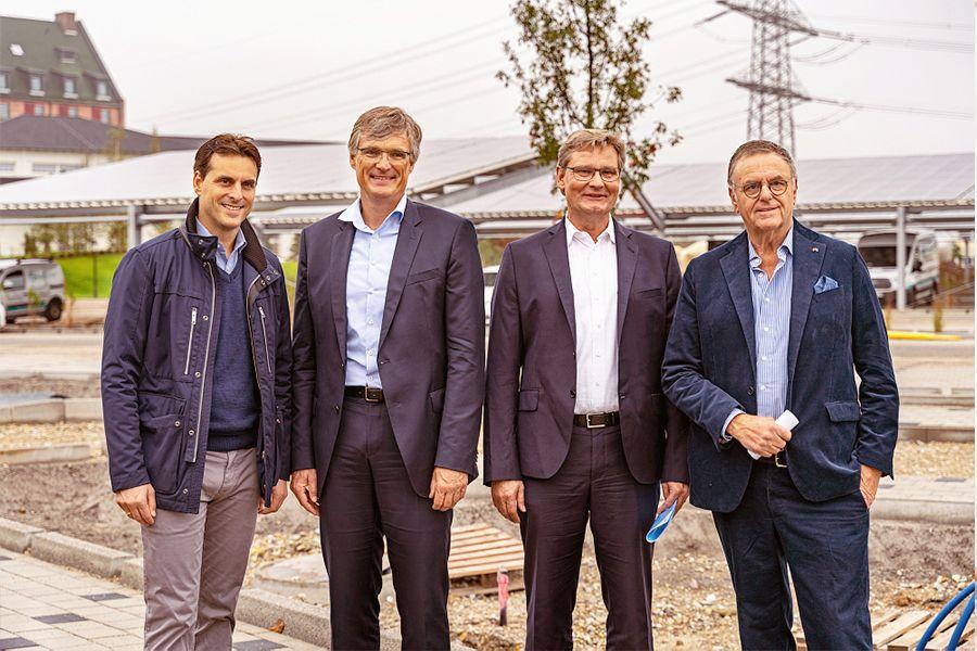 Einweihung Photovoltaikanlage Wasserwelt Rulatica des Europa-Parks