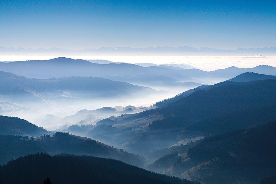 Ausblick vom Schauinsland