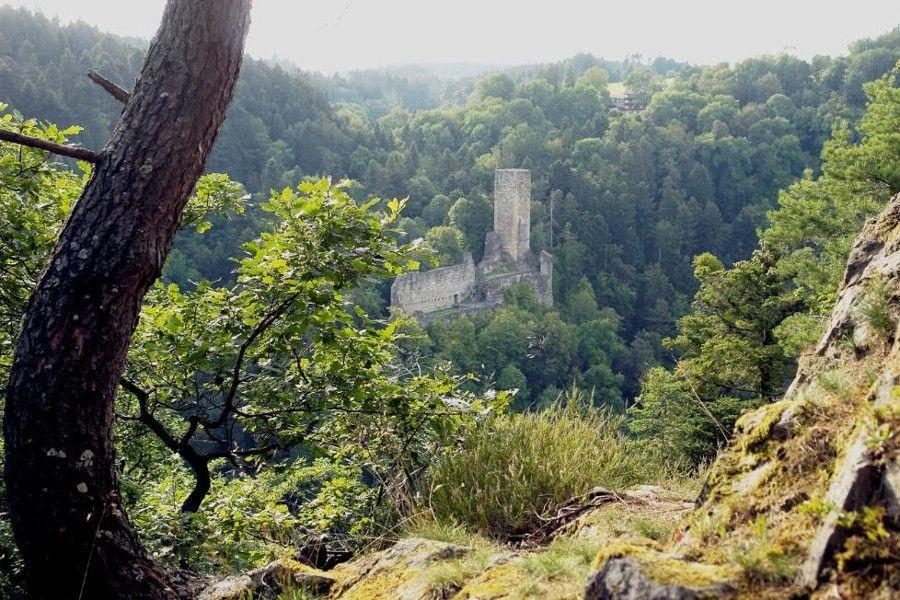 Burg Wieladingen bei Bad Säckingen