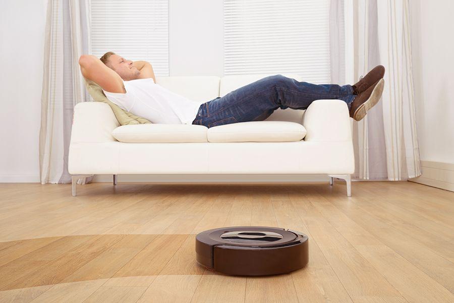 Smart Home Geräte Saugroboter