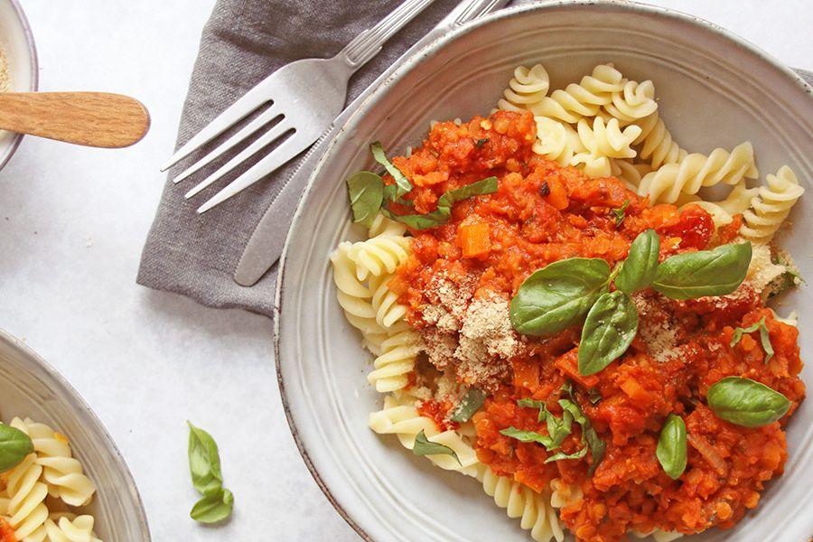 Rezept: Vegane Bolognese – ganz ohne Abfälle!