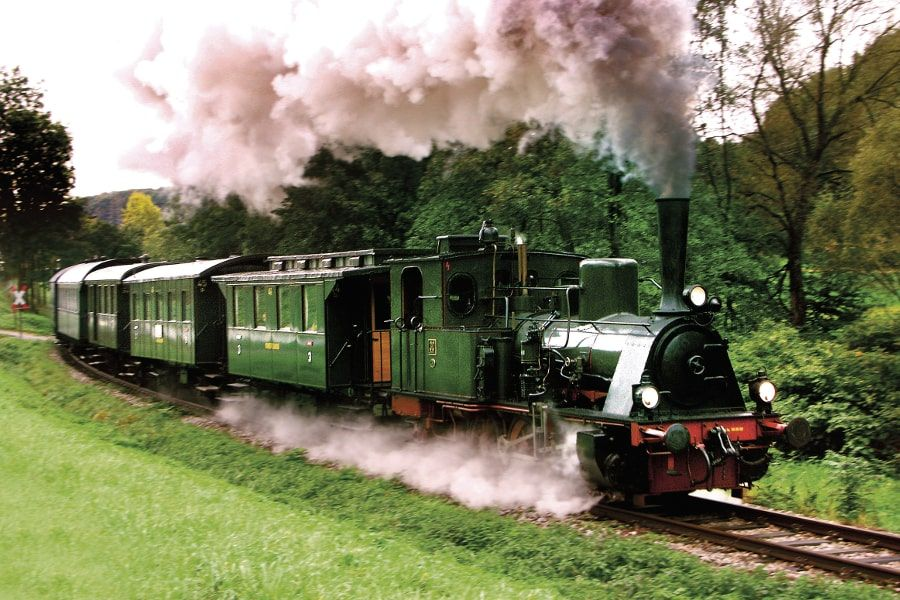 Dampfeisenbahn der Kandertalbahn