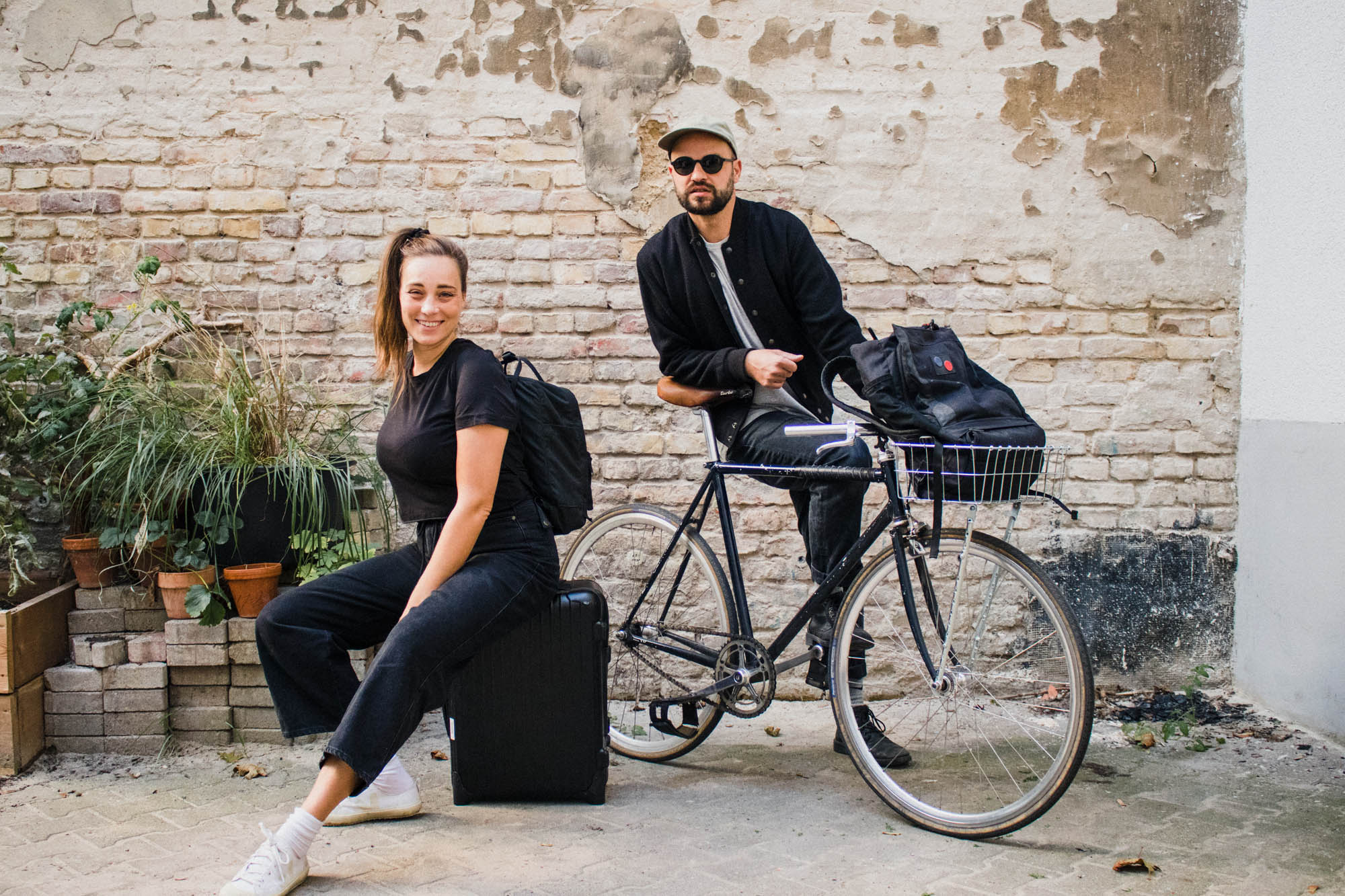 Reiseziele in der Nähe oder Urlaub mit dem Rad verbessern den ökologischen Fußabdruck.