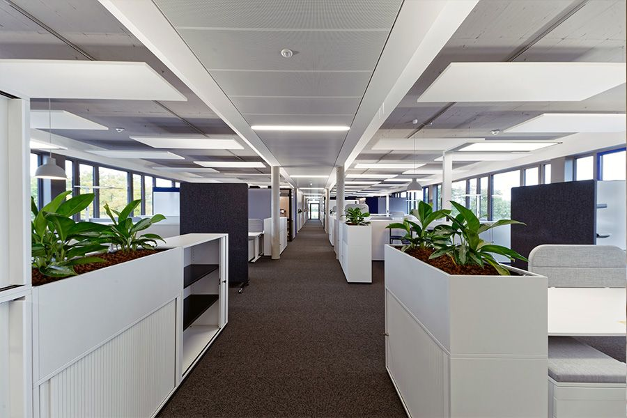 Nachhaltiges Bauen und moderne Arbeitswelten