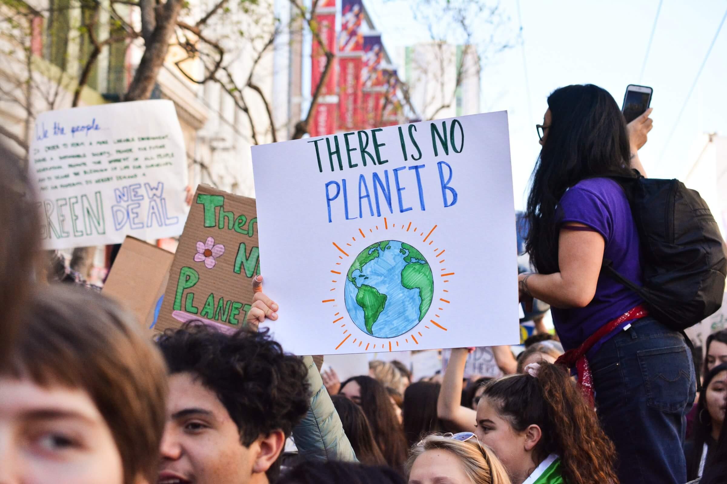 Wir müssen das Klima schützen, um unsere Erde zu erhalten.