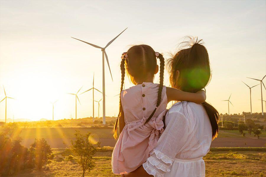 Ökostrom aus Windenergie