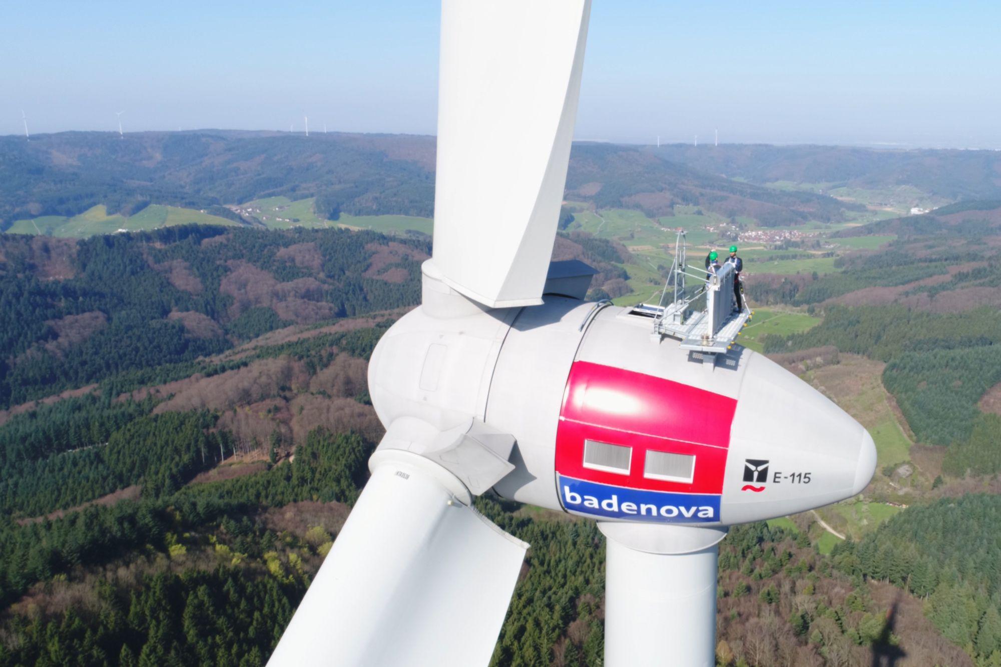 Ökostrom für die Region –  Windkraftanlagen von badenova