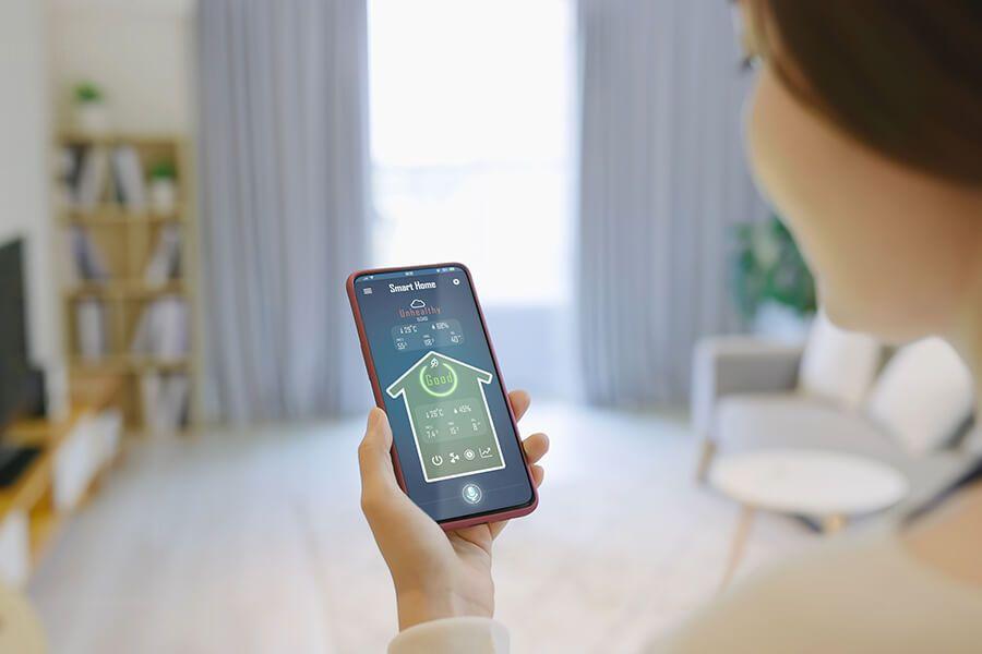 Luftreiniger mit der App ganz einfach bedienen