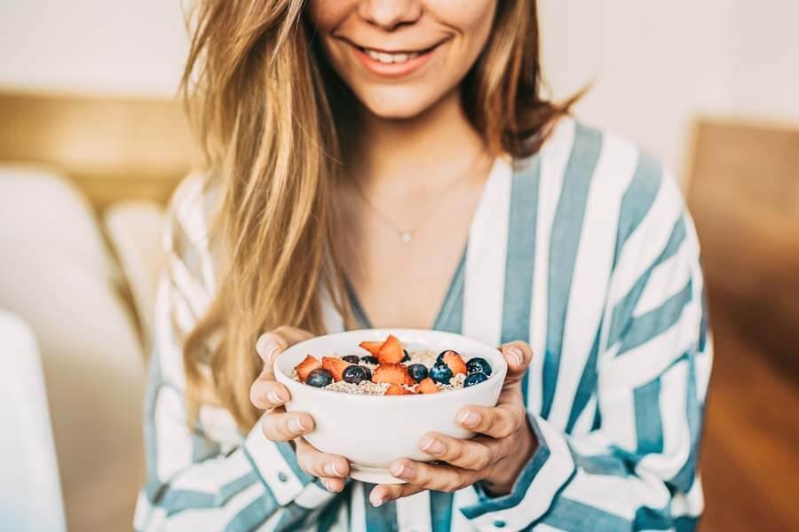 Porridge Toppings und Variationen