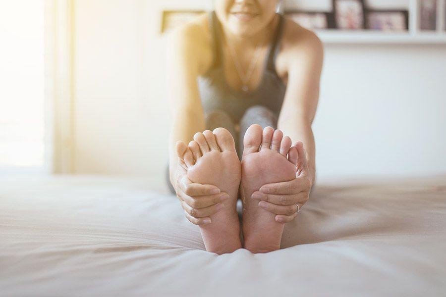 Yoga hilft beim Einschlafen