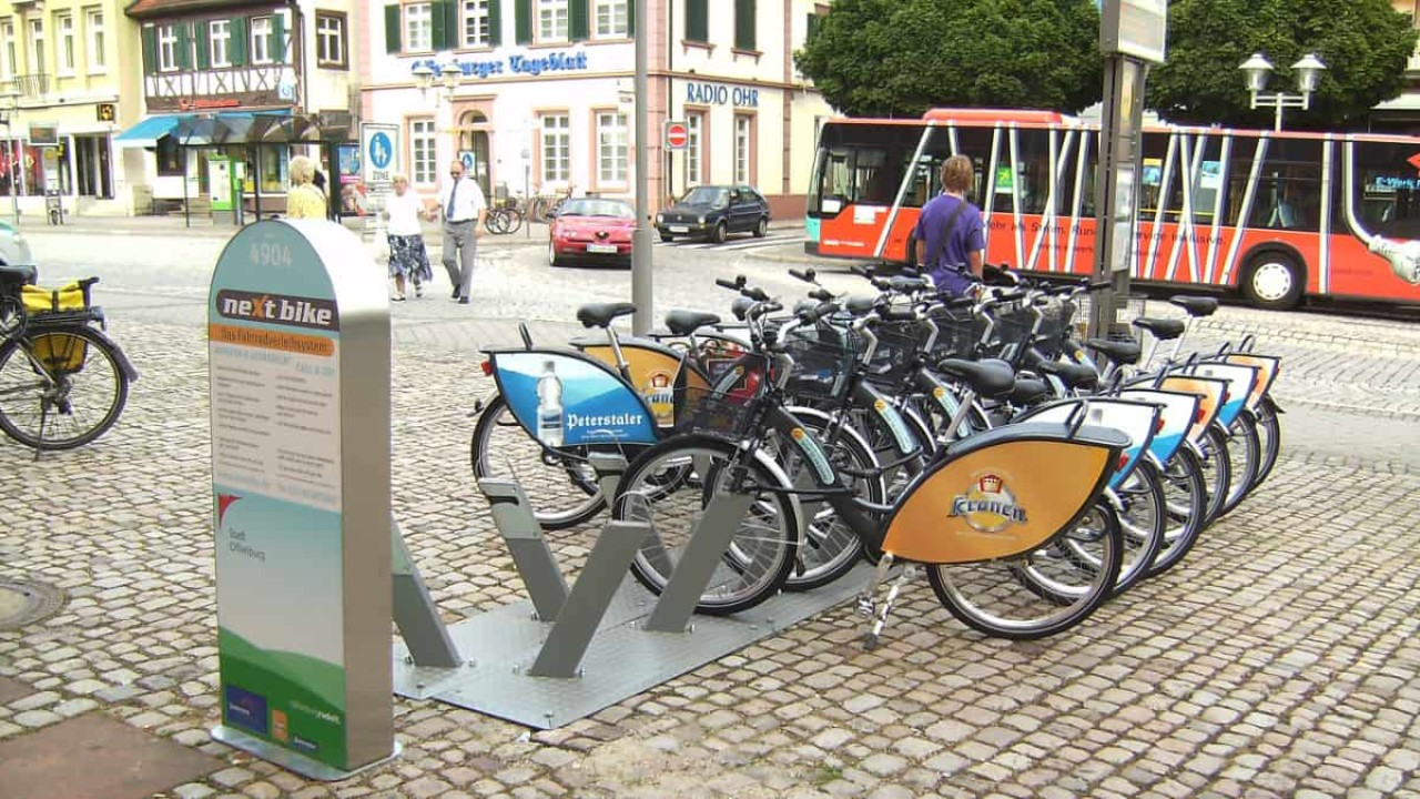 Innovatives Fahrradverleihsystem in Offenburg
